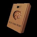 prażone orzechy laskowe w kartoniku