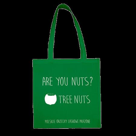 zielona torba bawełniana are you nuts